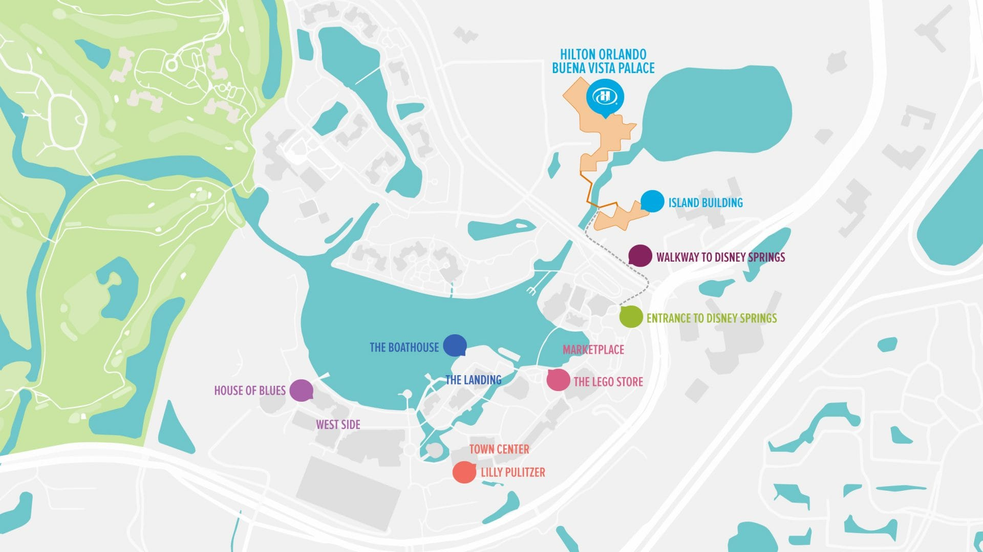 Hilton Orlando Buena Vista Palace - Disney Springs® | Walt Disney on