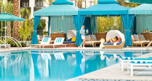 Soak Up The Sun In A Poolside Oasis